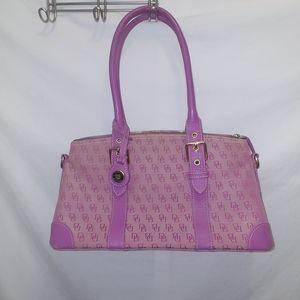 Vintage Dooney & Bourke women's satchel bag
